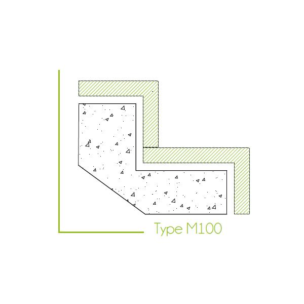 Trapbekleding type m100