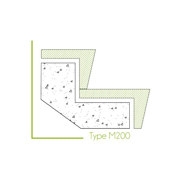 Trapbekleding type m200