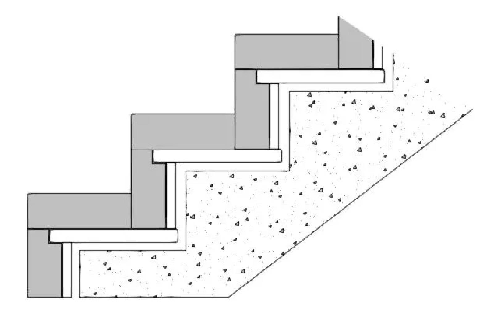 Kleine trapvorm